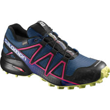 zapatos TRAIL RUNNING Mujer SALOMON SPEEDCROSS 4 GTX W Poseidon Virtual Pink