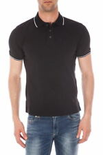 Polo Just Cavalli Polo Shirt -65% Uomo Nero S01GC0245-900 SALDI