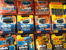 GILLETTE BLADES FUSION PROGLIDE POWDER PROSHIELD RAZOR CARTRIDGE * CHOOSE *