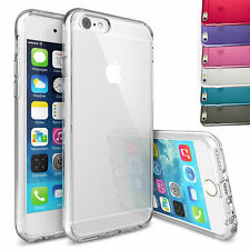 PER IPHONE APPLE 6 6s / Plus Sottile Trasparente Silicone Gel Custodia cover