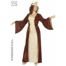 Ladies MEDIEVAL PRINCESS Costume for Middle Dark Ages Fancy Dress Outfit
