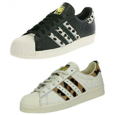 adidas superstar anni '80 ANIMALE PONY effect vintage sneakers EDIZIONE LIMITATA