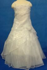 NEW FIRST COMMUNION / FLOWER GIRL DRESS BY SHANIL  SIZE  6
