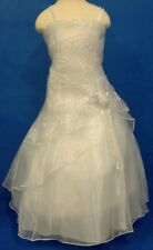 NEW FIRST COMMUNION / FLOWER GIRL DRESS BY SHANIL  SIZE  4