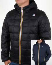 K Way Jacques Thermo Plus Reversible Jacket in Navy Blue waterproof quilted SALE