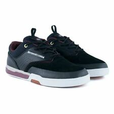 DC Shoes Chris Cole Lite 3 S Black Oxblood Skate Shoes New In Free Delivery