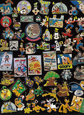 12 DISNEY PIN PINES - WALT DISNEY WORLD - DISNEY LAND elegir: Goofy