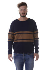 Imperial Sweater Pullover -50% Herren MADE IN ITALY Blau MT28SAC-