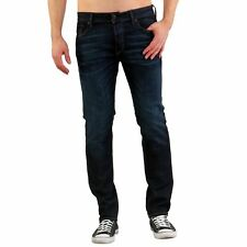 JACK & JONES UOMO SLIM-FIT elastica jeans pantaloni TIM ICON BLU bl678