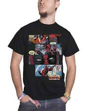 Deadpool T Shirt Deadpool comic Strip nouveau officiel Marvel Comics Homme