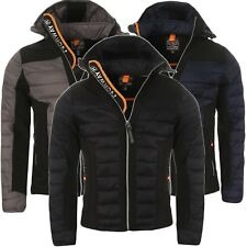 Geographical Norway Herren Steppjacke Softshelljacke Mix Jacke Herbst