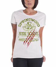 Nightmare On Elm Street T Shirt Springwood High Official Womens Skinny Fit