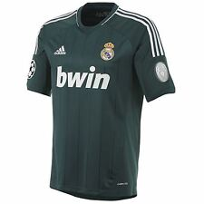 adidas Real Madrid Maglietta da calcio verde 12/13 THIRD KIT CHAMPIONS LEAGUE
