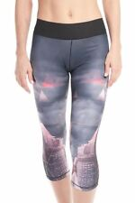 ADIDAS DONNA WORLD Seas 3/4 aderente Calze PALESTRA WORK OUT FITNESS MODA
