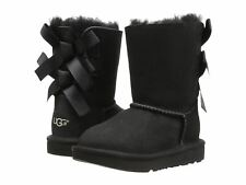 UGG Bailey Bow II 1017394T/BLK Black Toddler Infant's Boot