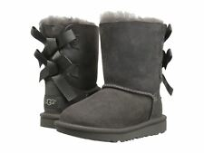 UGG Bailey Bow II 1017394T/GREY Gray Toddler Infant's Boot