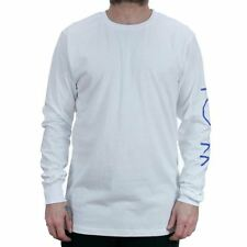 Polar Skate Co Script Logo Long Sleeved T-Shirt White Tee New In Free Delivery