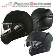 Helmet moto Shark Evoline 3 black matt reversible casco modular helm jet