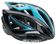 CASCO RUDY PROJECT AIRSTORM BLACK/BLUE SHINY 2018