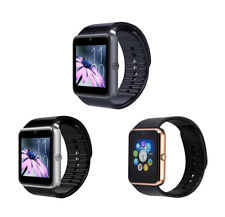 BAS-TEK GT08 Bluetooth Smart Watch, Support Sim Card for Android and IOS