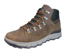 Caterpillar Stiction Hiker Ice hombres Cuero impermeable Botas - Marrón