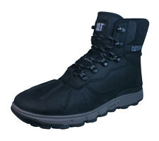 Caterpillar Stiction Hiker Ice hombres Cuero impermeable Botas - Negro