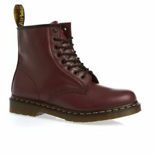 Dr Martens Boots - Dr Martens 1460 Smooth Boots - Cherry Red