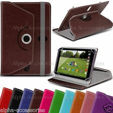 "Universal PU Leather Grip Stand Case Cover For 7"" 7 inches Tab Android Tablet PC"