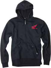 Official Ride Red Honda Z-HOODY Zip-up Sherpa Sweatshirt - Medium-2XL