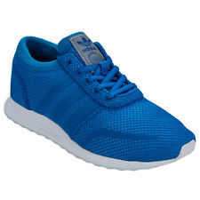 Junior Boys adidas Originals Los Angeles Trainers In Blue-Lace Fastening-Padded