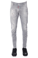 Jeans Dsquared2 Jeans % Made In Italy Uomo Grigio S74LB0225-S3026-