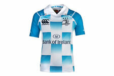 Canterbury Leinster 2017/18 Kids Alternate S/S Pro Rugby Shirt Top Sports