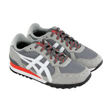 Onitsuka Tiger Colorado Eighty Five Mens Gray Leather Athletic Running Shoes