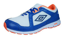 Umbro Trainer League Zapatillas De Fitness Para Hombre - Blanco / Azul