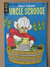 UNCLE SCROOGE # 72-191  US GOLD KEY COMICS 1967-1982 BARKS repr VG  to NM+