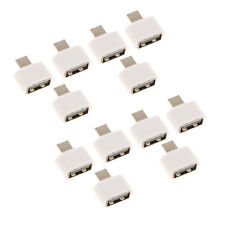 10x Micro USB Male OTG to USB2.0 Female Adapter Converter For Android Mobile