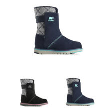 Unisex Kids Sorel Youth Rylee Walking Suede Winter Hiking Lace Up Boot All Sizes