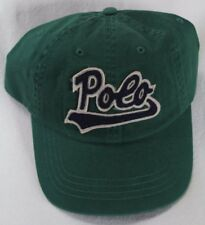 Polo Ralph Lauren Green Baseball Ball Cap Hat NWT