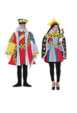 Queen Or King Of Hearts Cards Deck Fancy Dress