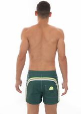 "SUNDEK - COSTUME BOARDSHORT 14"" - M502BDTA100-457 - HUT GREEN - BS/RB LOW RISE"