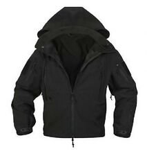 US Special Ops Softshell SWAT TÁCTICA Soft Shell Chaqueta Negro negro