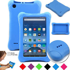 For Amazon Fire 7 8 HD 2017 2015 With ALEXA Kids Case Shock Proof Children Cover