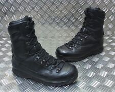 Genuine British Army Karrimor SF Cold Weather Goretex Black Combat Boots Faulty