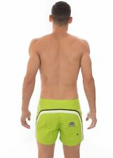 "SUNDEK - COSTUME BOARDSHORT 14"" - M502BDTA100-124 - LIME - BS/RB LOW RISE"