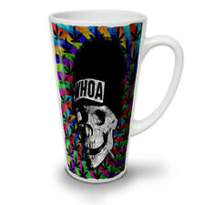 Skull Weed Cannabis Rasta NEW White Tea Coffee Latte Mug 12 17 oz | Wellcoda