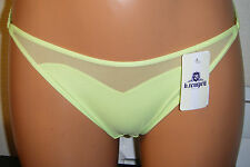 SHEER DELIGHTS BRIEF SIZE S 10 B.TEMPT'D KNICKERS PANTS UNDERWEAR NEW LINGERIE