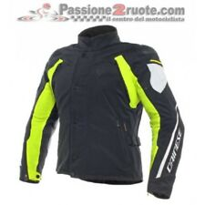 Chaqueta Dainese Lluvia Master D-Dry Negro amarillo fluo impermeable hombre