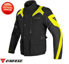 Chaqueta Dainese Tempest D-dry negro amarillo fluo touring impermeable