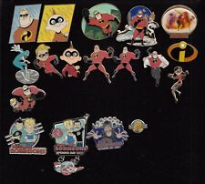 #28 DISNEY PIN elegir: The Incredibles, Meet the Robinsons