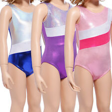 Body Justaucorps Wetlook Sans Manche Gymnastique Sport Danse Fille enfant